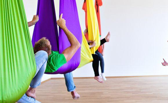 DANA Aerial Yoga Schnupperworkshop 12. Dezember