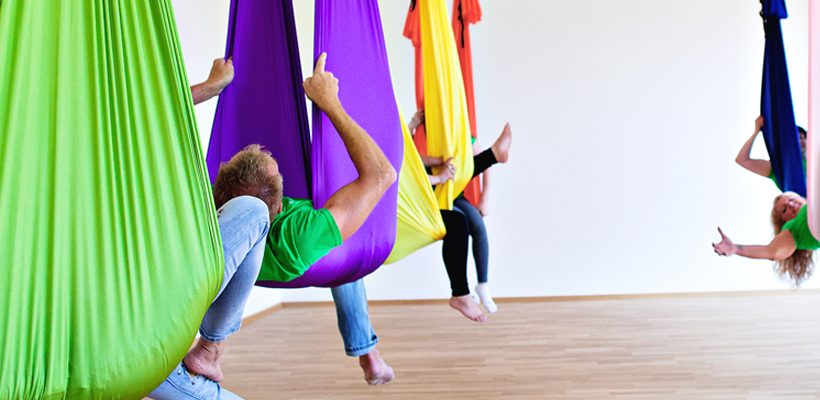 DANA Aerial Yoga Schnupperworkshop 10. Oktober