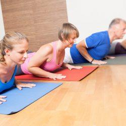 Sanftes Pilates für Einsteiger & Teilnehmer mit körperlichen Einschränkungen
