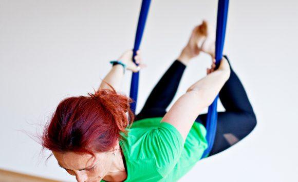 Aerial Yoga Einsteiger Kursblock