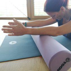 Sanftes Pilates für Einsteiger und Teilnehmer mit körperlichen Einschränkungen